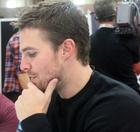 ARROW: Stephen Amell Video Interview