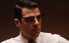 "AMERICAN HORROR STORY: Zachary Quinto's ""Bloody"" Role"