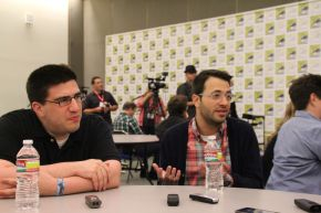 ONCE UPON A TIME: Eddy Kitsis & Adam Horowitz Video Interview