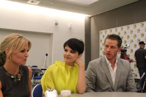 ONCE UPON A TIME: Ginnifer Goodwin, Jennifer Morrison & Josh Dallas Video Interviews