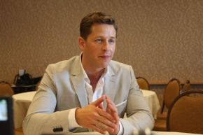 ONCE UPON A TIME: Josh Dallas Video Interview
