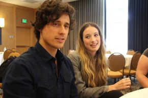 ONCE UPON A TIME IN WONDERLAND: Sophie Lowe & Peter Gadiot Video Interview