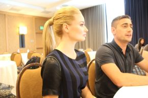ONCE UPON A TIME IN WONDERLAND: Emma Rigby & Michael Socha Video Interview