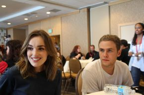 MARVEL'S AGENTS OF S.H.I.E.L.D.: Elizabeth Henstridge & Iain de Caestecker Video Interview