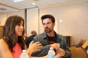 MARVEL'S AGENTS OF S.H.I.E.L.D.: Chloe Bennet & Brett Dalton VideoInterview