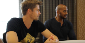 MARVEL'S AGENTS OF S.H.I.E.L.D.: Luke Mitchell & Henry Simmons Video Interview